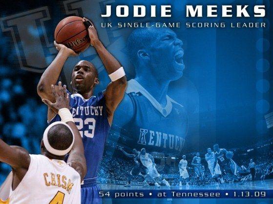 Jodie Meeks Kentucky Basketball