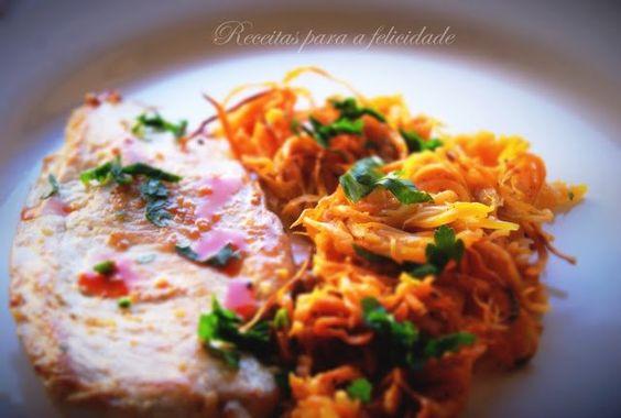 Rosti de Cenoura e Batata Doce - http://gostinhos.com/rosti-de-cenoura-e-batata-doce/