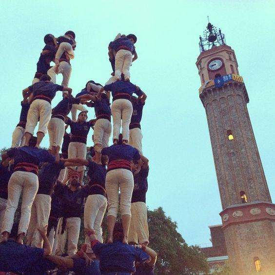 Castellers - Festes de Gràcia (Barcelona, Spain)