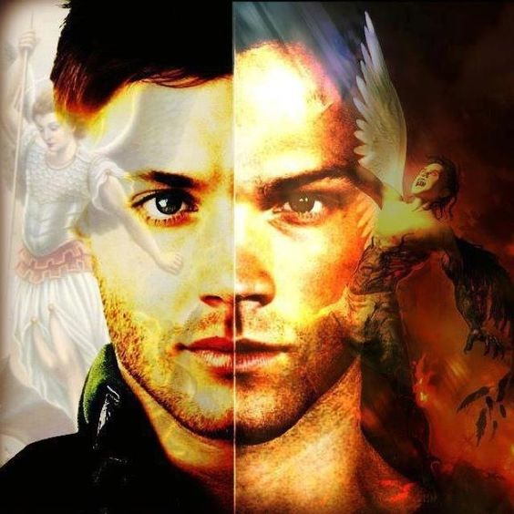 Lucifer And Michael Brothers