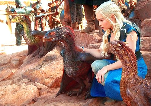 Game of Thrones Season 3 Dragons | Daenerys Targaryen ...