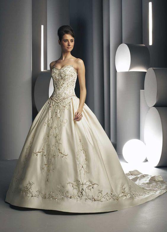 wedding dresses - wedding dresses off white wedding dresses ...