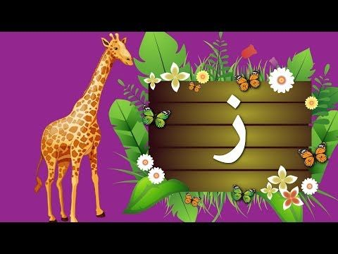 جنا و الحروف حرف الزاى ز حرف الزين Arabic Alphabet Youtube Alphabet