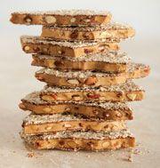 Enstrom milk chocolate almond toffee --- best ever!