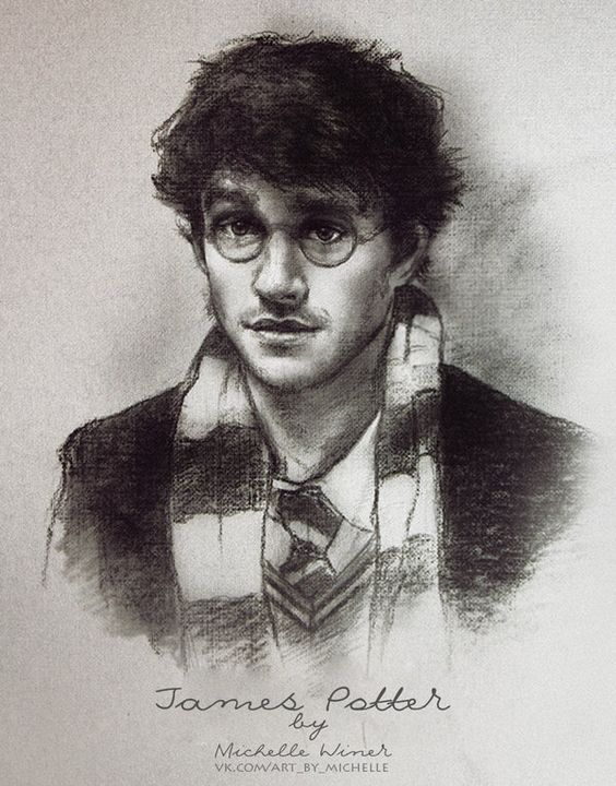 James Potter by Michelle-Winer on DeviantArt: