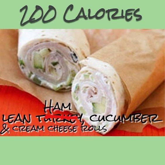 Diet Food Tastes Like Diet: Ham & Cucumber Wrap • Yummy & Filling Meals Under 200 Calories