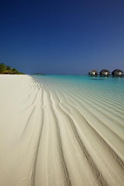 Beach Side Water Villa - Kanuhura, Maldives.