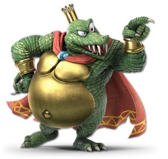 King K. Rool de Donkey Kong