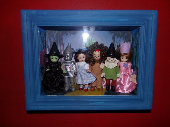 More Game room Wizard of Oz, Madame Alexander McDonald dolls