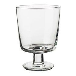 similar to my green wine glasses - these are very cute and cheap! IKEA 365+ Wine glass - IKEA