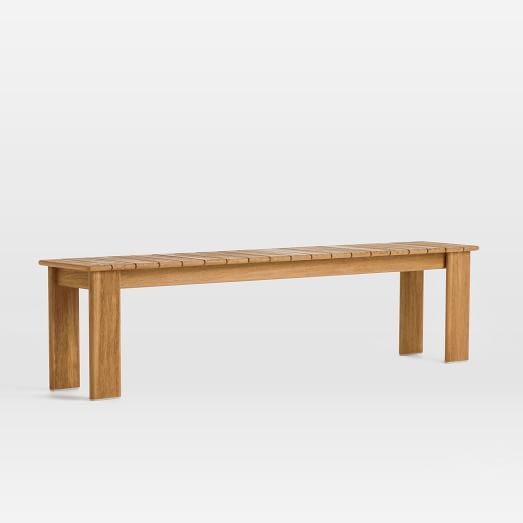 Modern Teak Outdoor Dining Bench Concrete Outdoor Dining Table