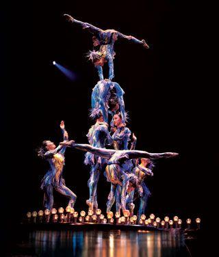 Watch a Cirque de Soleil show.