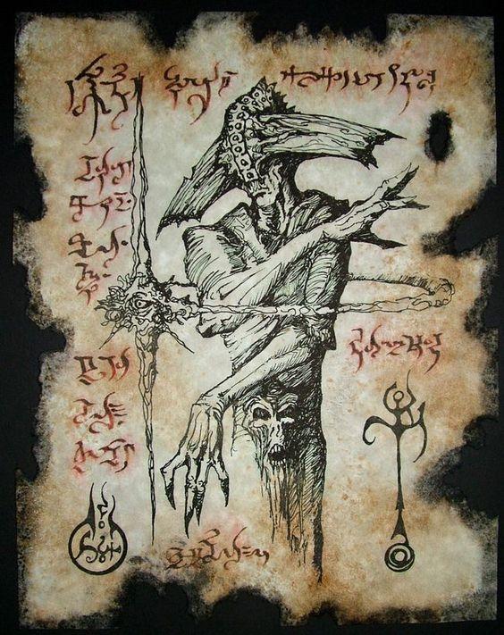 El Necronomicón,un libro salido de los infiernos 783bb65f9b6a83a81fd2ecc4c20a1a71