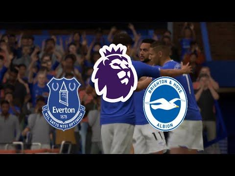 Fifa20 England Premier League Everton Vs Brighton Hove Albion Live In 2020 Brighton Hove Albion Brighton And Hove Everton