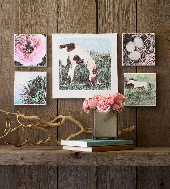 Photo Transfer tutorial http://www.bhg.com/decorating/do-it-yourself/fabric-paper-projects/nature-inspired-paper-projects/?sssdmh=dm17.561137&esrc=nwdc111611&email=1379405462#page=4