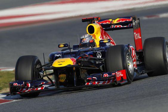 Sebastian Vettel Red Bull RB8 2012 World Champions