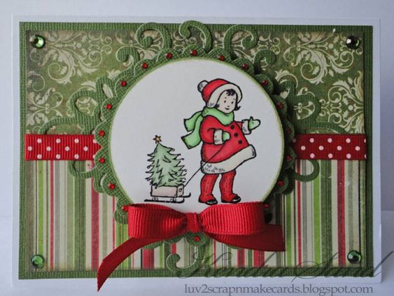 Adorable Girl by jksand - Cards and Paper Crafts at Splitcoaststampers