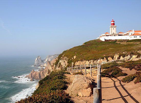 Cabo da Roca in Portugal - het meest westelijke punt van Europa en dichtbij Sintra gelegen!