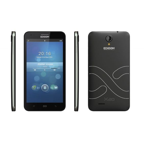 "Edioom X20 Quad Core A7-1,3 GHz-12GB-IPS 6""-1GB"