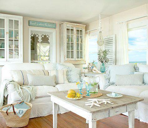 Gorgeous Hamptons Coastal Decor