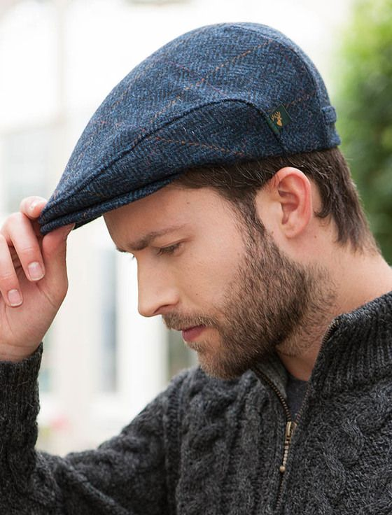 Traditional Tweed Flat Cap