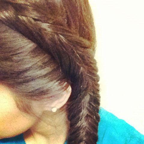Inverted Fishtail Braid | Hair: Braids | Pinterest ...