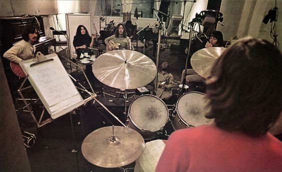 The Beatles in Apple Studios, February 1969