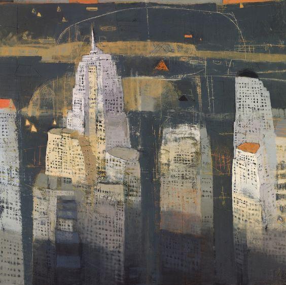 Paul Balmer: N.Y. by night