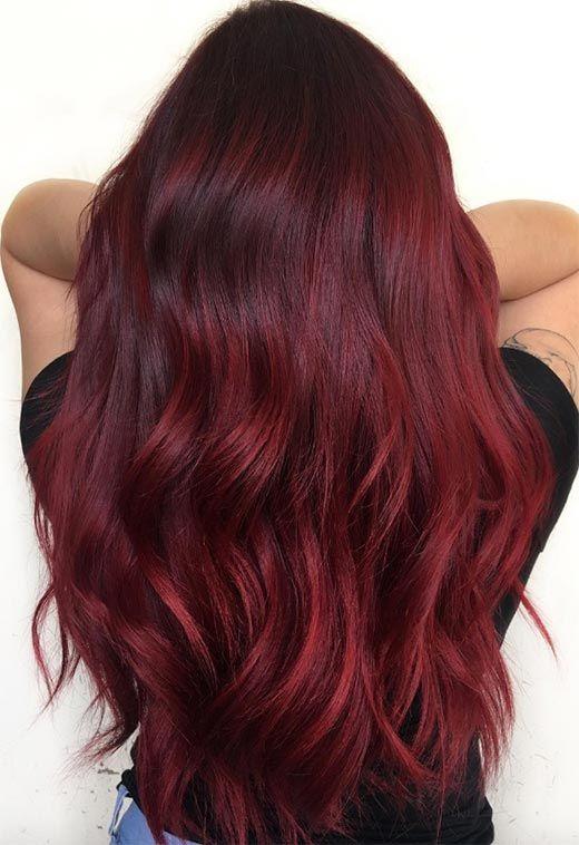 63 Yummy Burgundy Hair Color Ideas Burgundy Hair Dye Tips Tricks Burgundy Hair Dye Burgundy Hair Maroon Hair Colors