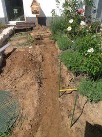 Beetabgrenzung Bzw Rasenkante Aus Granit Selbst Bauen Gartengestaltung Rasenkanten Garten Pflaster