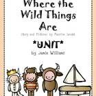 Where the Wild Things Are BOOK UNIT | Popular, Activities ...