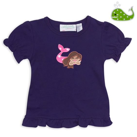 Swoon! Love this Purple Short Sleeve Cotton Ruffle Shirt I discovered at lollywollydoodle.com and for only $15! Click the image above to get a $5 off coupon code for your next order!
