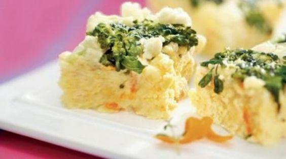 Quadradinhos de legumes - Recepedia | E sua receita, qual é?