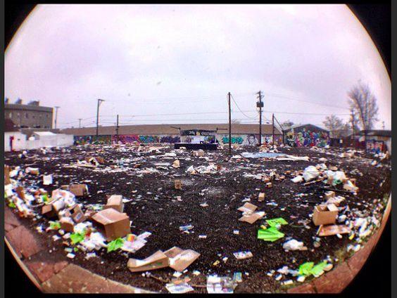 WTF High Times? 2013 Event Area Looks A Little Trashed...   Marijuana.com