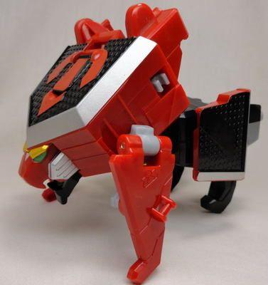 Power Rangers Samurai Megazord Red Lion zord torso part ...
