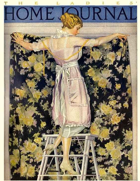 Coles Phillips illustration for 1921 Ladies Home Journal