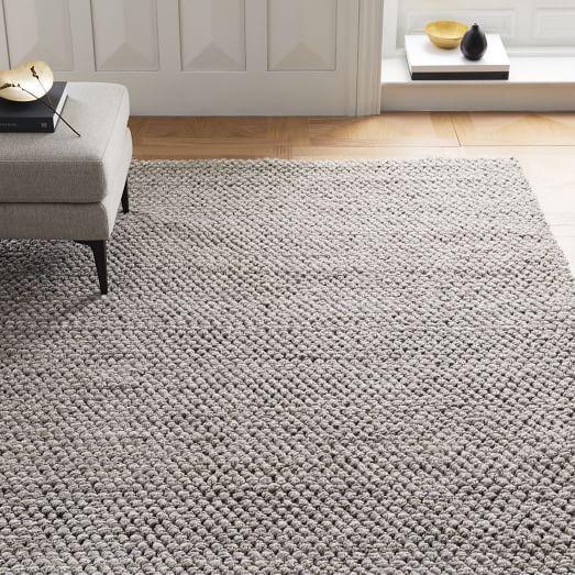 Mini Pebble Wool Jute Rug Natural Ivory West Elm Jute Wool Rug Natural Rug Living Room Carpet