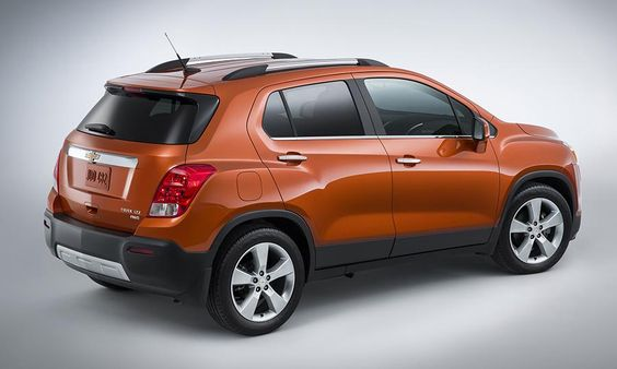 Chevrolet Trax Compact Suv Revealed At New York Auto Show