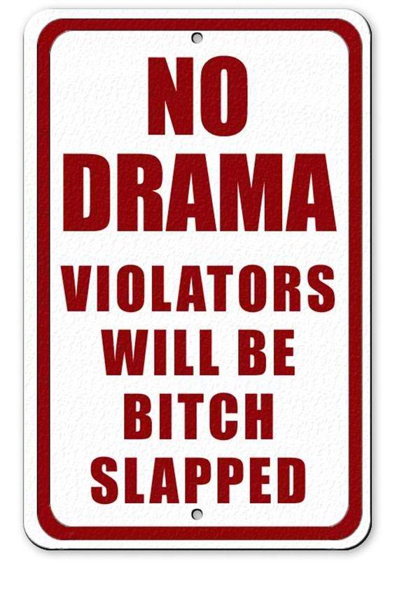 Bitch Slap Sign