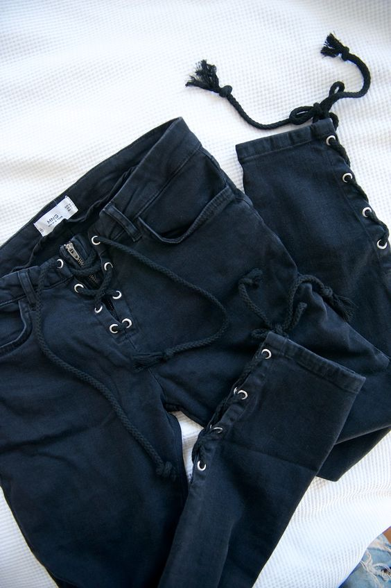 Idk about mango jeans but maybe if they looked good on me.. ☾☼↠@Peytongracepin↞☾☼