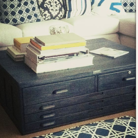 Coffee Table With Map Drawers: Coffe Table, Drawers And Maps On Pinterest