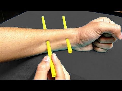 3 New Magic Tricks With Straws Anyone Can Do Youtube Magic