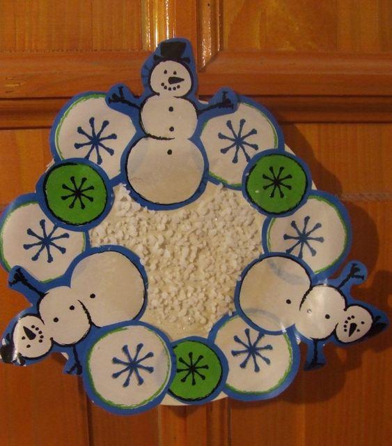 karácsonyi ablakdíszek csomagolópapírból