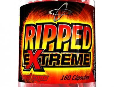 Termogênico Ripped Extreme Red Caps 160 Cápsulas - Atlhetica Evolution com as…