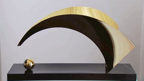 Santiago Calatrava lyon saint-exupéry gif