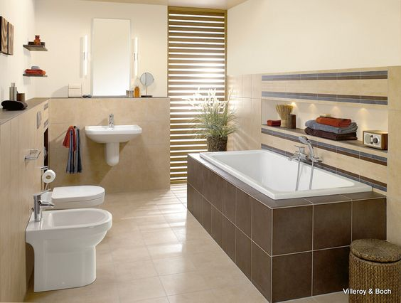 Villeroy \ Boch badkamer bij Van Wanrooij keuken- en - badezimmermöbel villeroy und boch