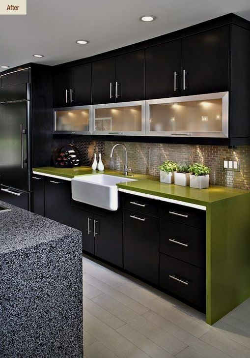 A Contemporary Kitchen Design Means Different Thing To Different People For Some It Is A Clean Bo Kitchen Room Design Kitchen Furniture Design Kitchen Modular