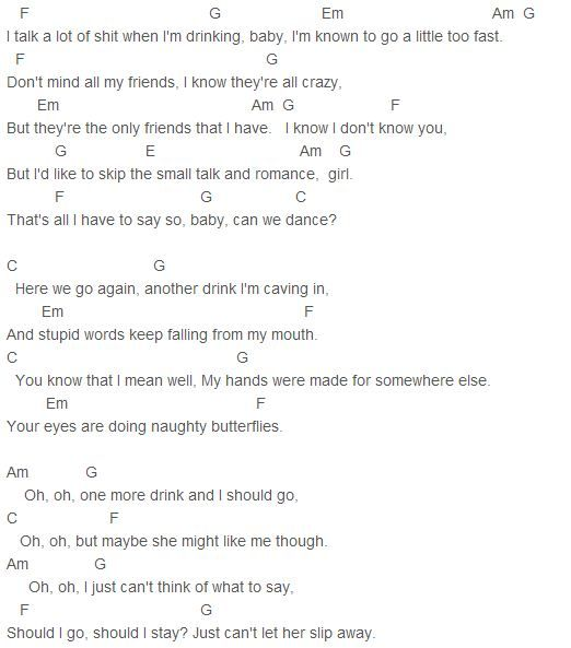 Guitar guitar chords you and i by chance : Guitar : guitar chords you and i by chance Guitar Chords You And ...