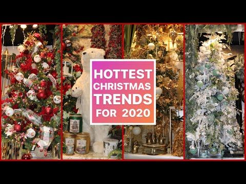 Trends in Decorating For Christmas ( Pt1 ) / CHRISTMAS DECORATING