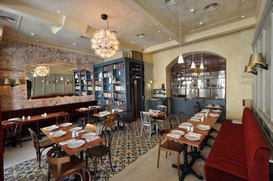 bistro interior photos | with a twist french bistro bar au vin ...